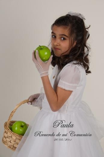 Fotografía de Comunión. Paula-015